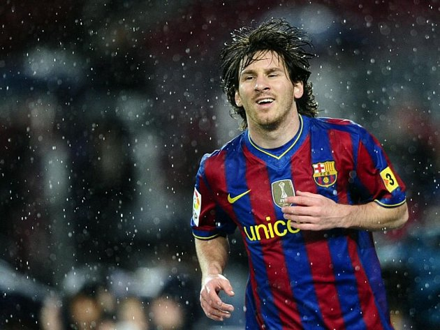 Kanonýr Barcelony Lionel Messi opět řádil.