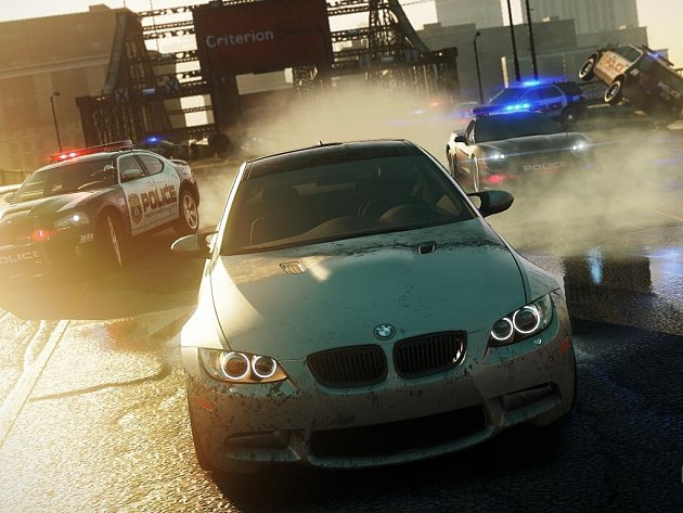 Počítačová hra Need for Speed: Most Wanted.