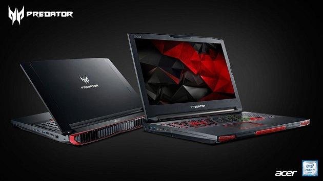 Herní notebook Acer Predator 17X.