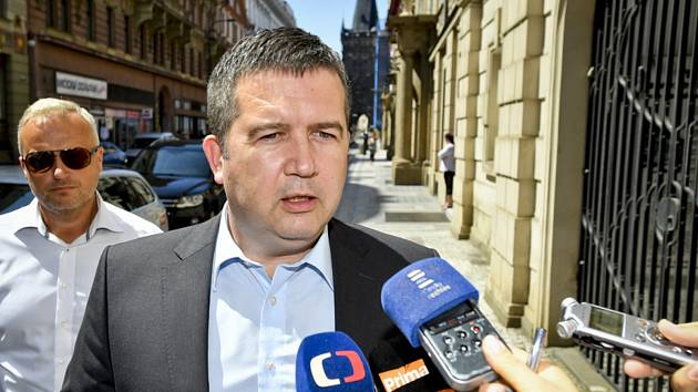 Předseda ČSSD, místopředseda vlády a ministr vnitra Jan Hamáček