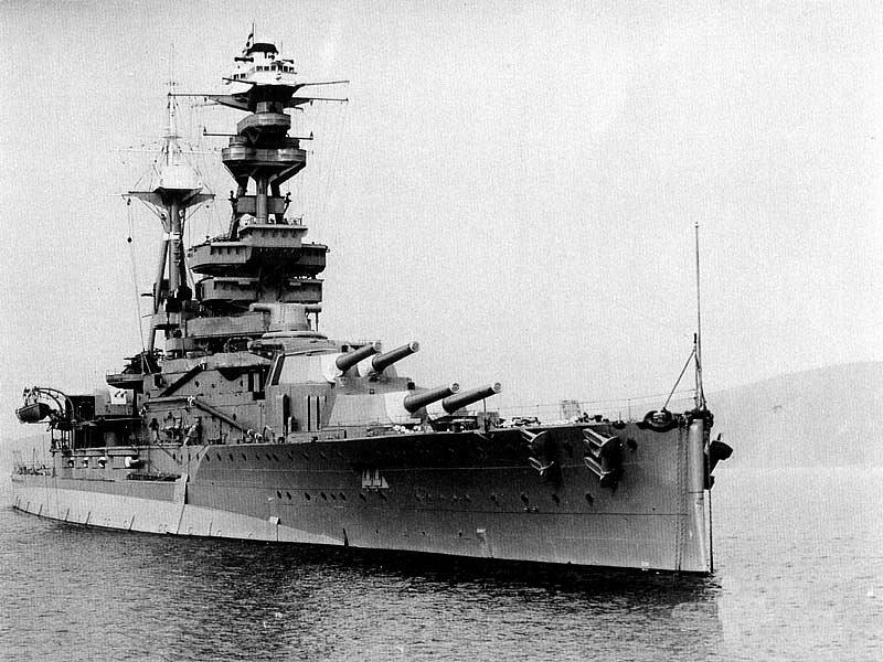 Ponorka potopila na základně válečnou loď Royal Oak - poslední, která tam zbývala
