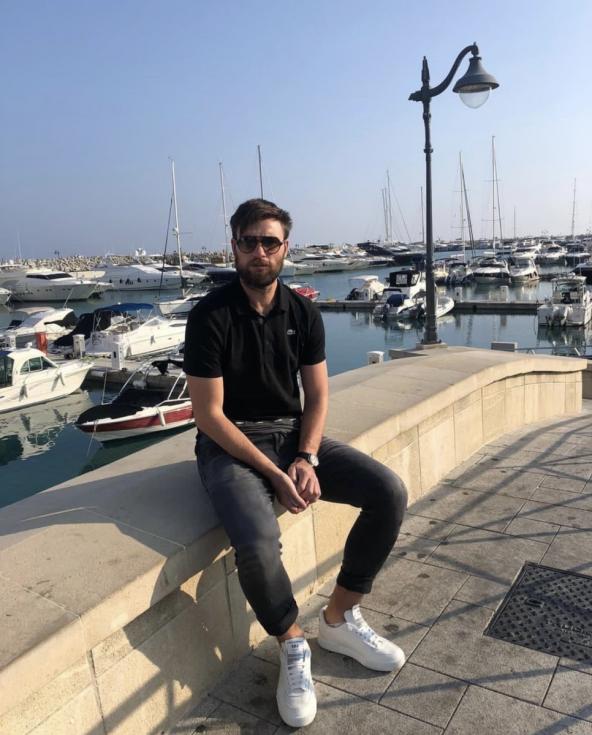 Tomáš Wágner na Kypru