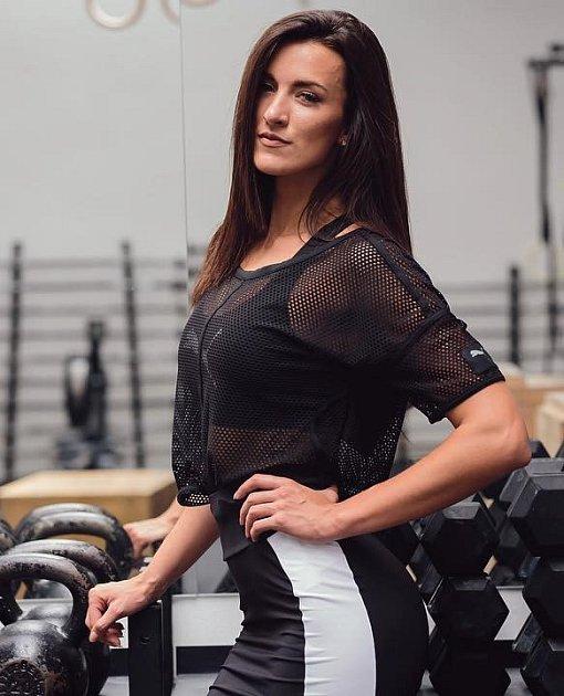 Fitness trenérka Kamila Pavlíčková