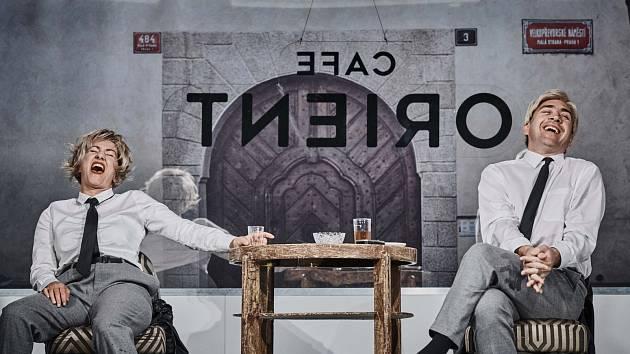 Vanda Hybnerová a Jiří Hána v představení Kanibalky