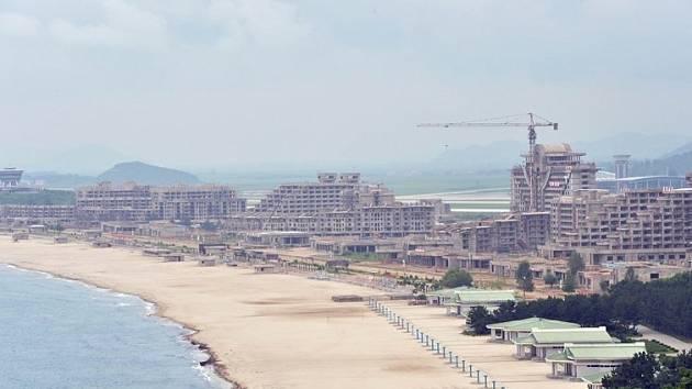 Plážový resort Wonsan-Kalma