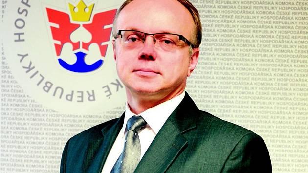 Ladislav Minčič, někdejší náměstek ministra financí, nyní ředitel odboru legislativy, práva a analýz Hospodářské komory ČR.