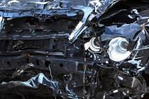 Nehoda automobilu. Ilustrační snímek