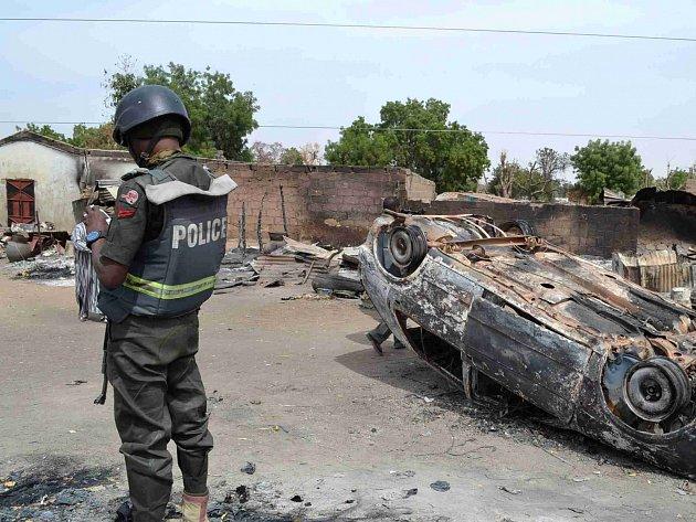 Násilí v Nigérii. Ilustrační foto.