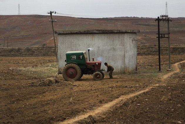 Severní Korea, zemědělství