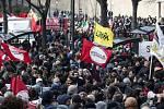 Protesty v italské Maceratě