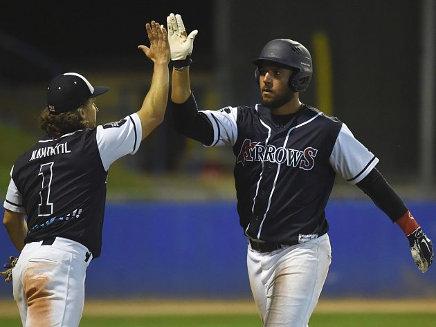 Radost. Baseballisté Arrows dominovali sérii s Eagles.
