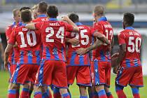 Viktoria Plzeň - Sönderjyske (Dán.), utkání 3. předkola fotbalové Evropské ligy, 24. září 2020 v Plzni.