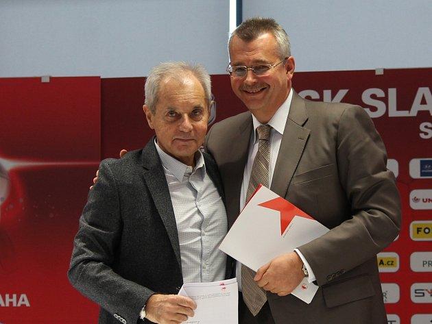 Konec vlády dvou mužů. Jiří Šimáně (vlevo) už nebude spolupracovat s Jaroslavem Tvrdíkem