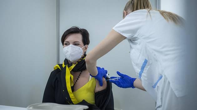 Očkování učitelů v Liberci