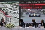 Seriál formule 1 rozšíří od roku 2020 Velká cena Vietnamu. Na snímku je částečně městský okruh v Hanoji