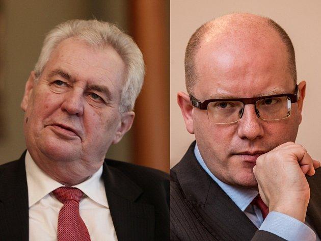Jde o potyčky dvou politiků, kteří se nemají rádi, protože jsou typově odlišní? Nebo se ve vzájemných výrocích Miloše Zemana a Bohuslava Sobotky odráží zásadní ideový spor o správu věcí veřejných?