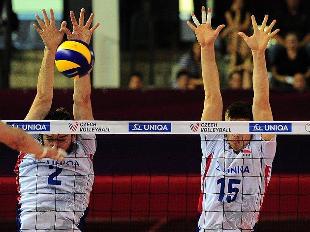 Čeští volejbalisté mají v Portu smělé plány.