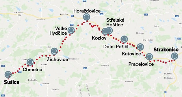 Trasa cyklotrasy