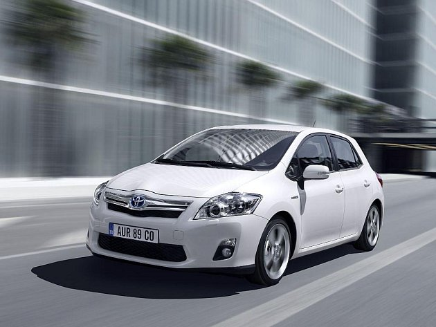 Toyota Auris s pohonem Hybrid Synergy Drive