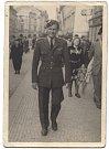 Jaroslav Chejstovský po návratu do Prahy v roce 1945