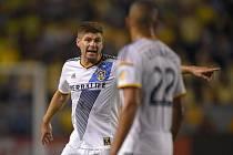 Steven Gerrard v dresu Los Angeles Galaxy.