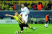 Jediným střelcem Realu Madrid byl Cristiano Ronaldo (vpravo).