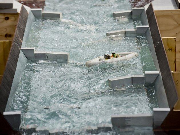 Model kanálu pro olympijské hry v Riu.