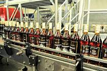 Stock Plzeň - Božkov, největší výrobce lihovin v ČR.