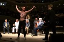 Aktivistky narušily koncert Woodyho Allena