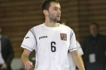 Český futsalista Roman Mareš.
