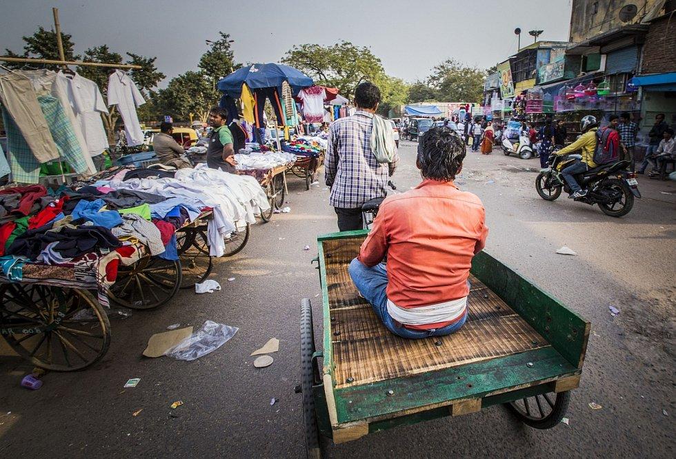 Život se v Indii odehrává na tržištích