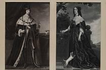 Fridrich Falcký s manželkou, dcerou anglického krále Ažbětou Stuartovnou