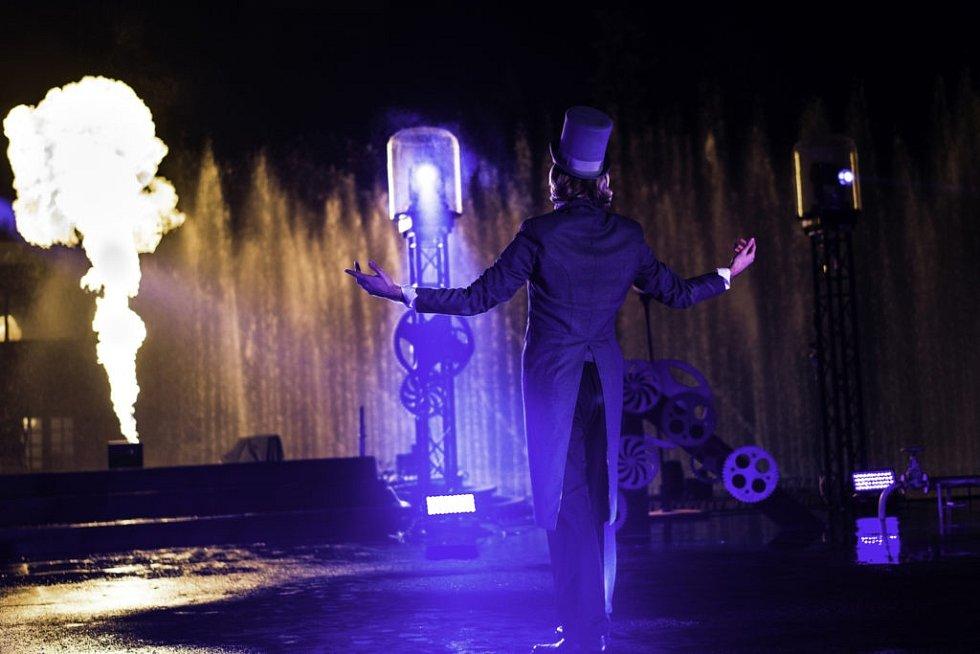 Křižíkova fontána láká na unikátní show