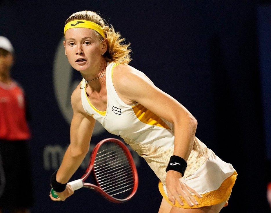 Česká tenistka Marie Bouzková