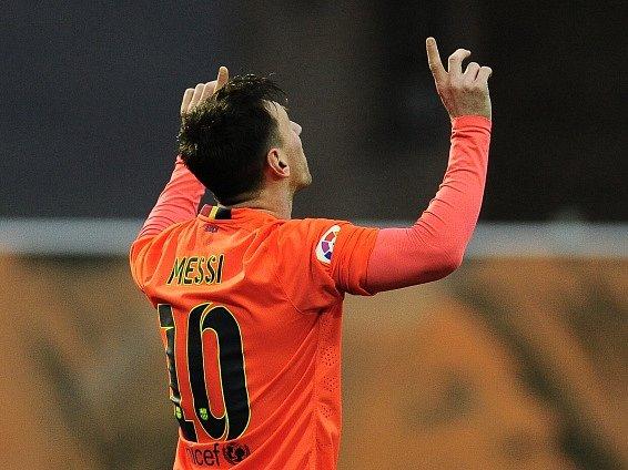 Lionel Messi byl ústřední postavou zápasu v Eibaru