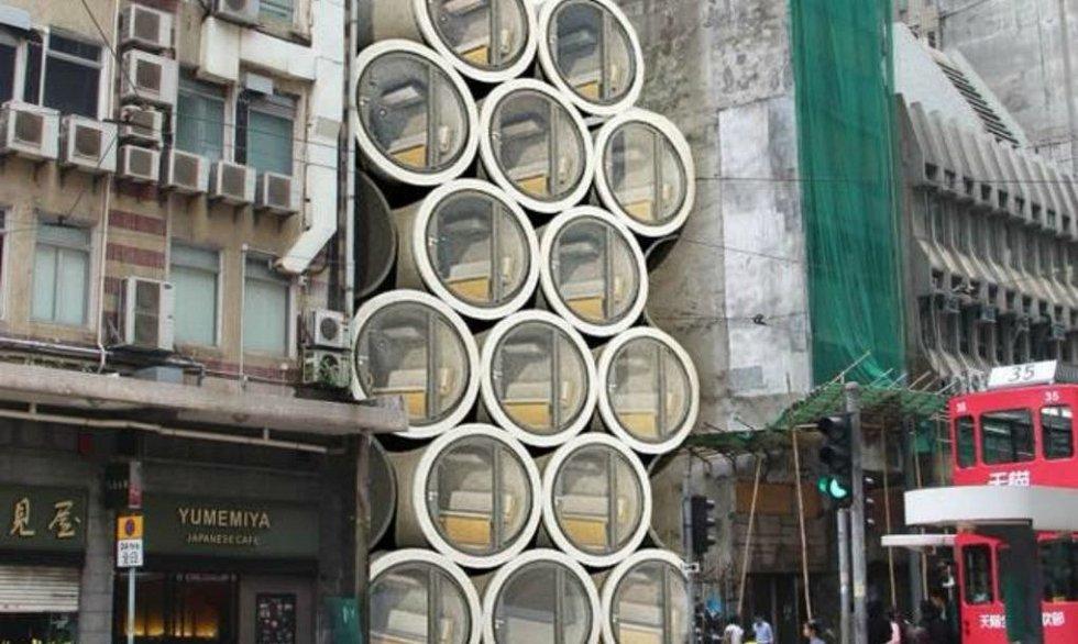 Bytové jednotky se budou moci umisťovat podle potřeby takřka kamkoliv.