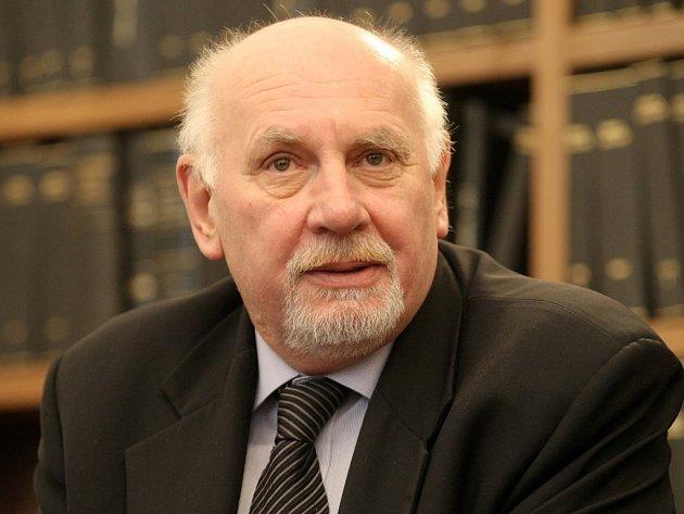 Předseda Ústavního soudu (ÚS) Pavel Rychetský.