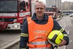 Mluvčí pražských hasičů Martin Kavka