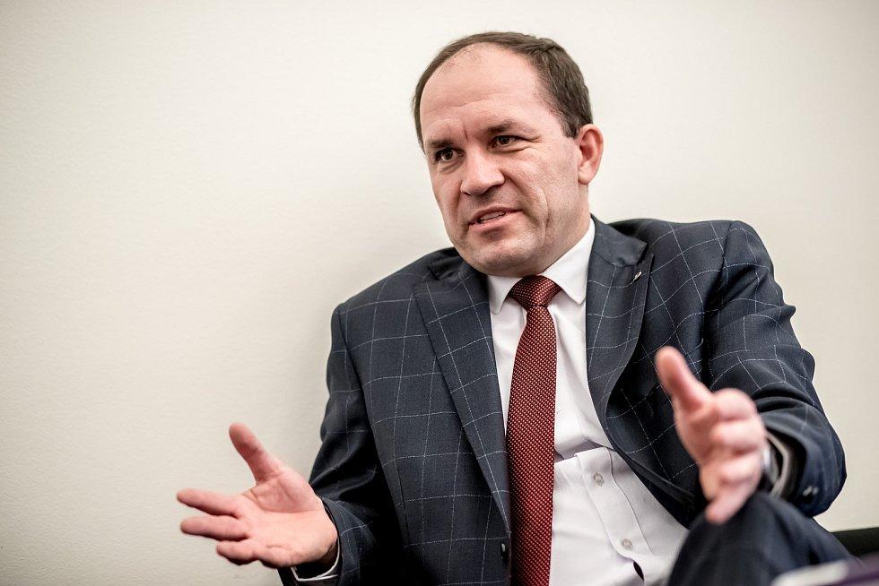Předseda KDU-ČSL Marek Výborný.