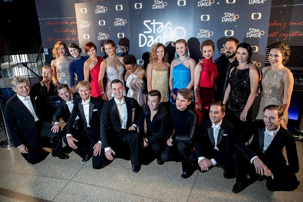Tisková konference k 10. ročníku StarDance proběhla 10. září v Praze.