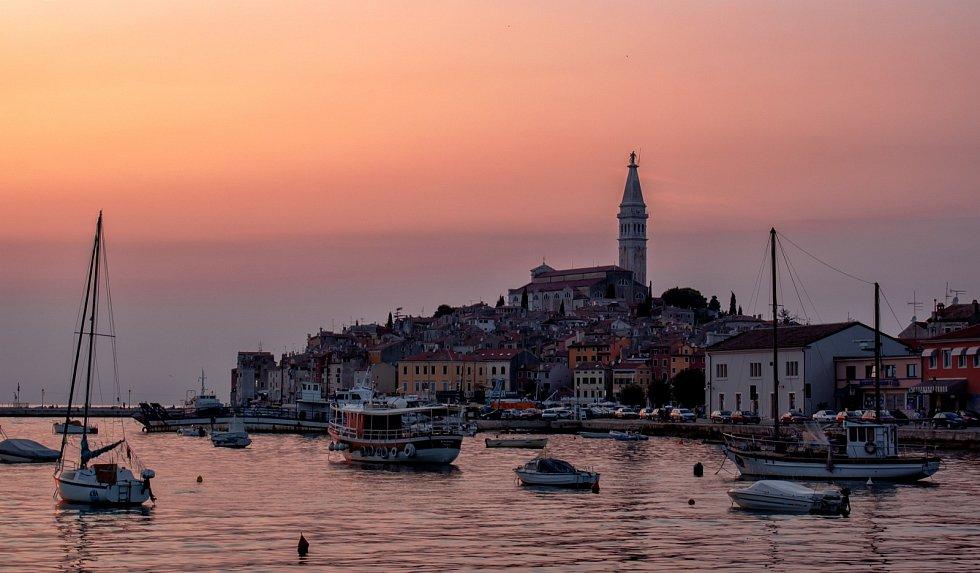 Dovolená, Chorvatsko, Rovinj.