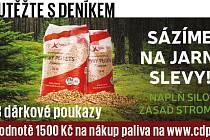 Soutěžte s Deníkem o 3 dárkové poukazy vhodnotě 1500 Kč na nákup paliva na www.cdp.cz