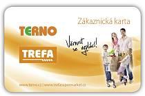 Terno Trefa zákaznická karta