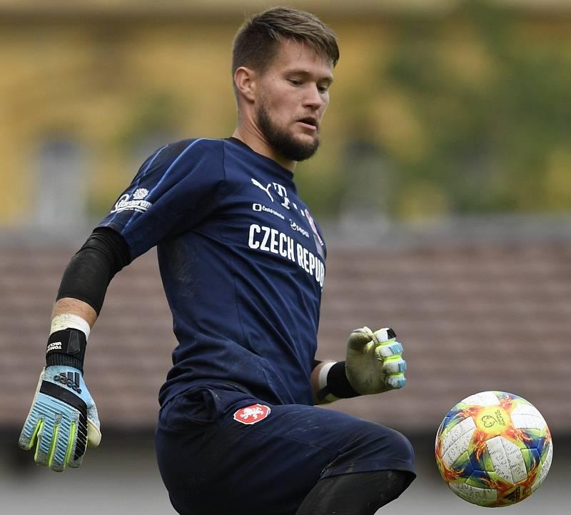 Brankář reprezentace Tomáš Vaclík