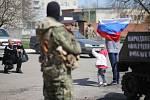 Obsazené úřady vyklidíme, až totéž udělá vláda v Kyjevě, vzkázali povstalci z Doněcka