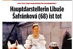 Úmrtí Libuše Šafránkové se věnují i zahraniční média