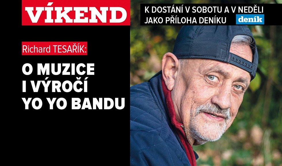 Richard Tesařík: O muzice i výročí Yo Yo Bandu. Poutání na magazín Víkend