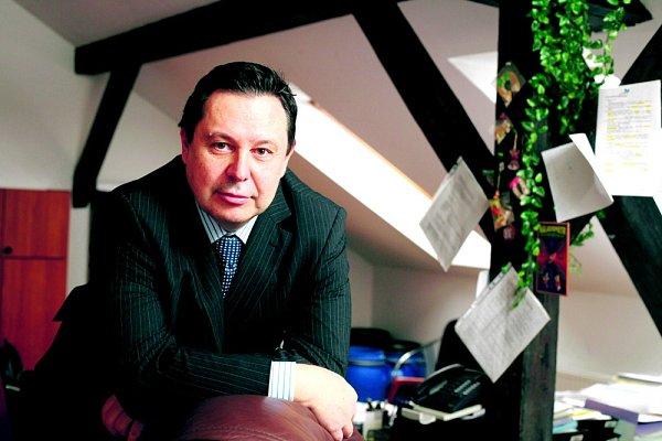 Generální ředitel developerské společnosti Ekospol Evžen Korec.
