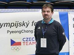 Martin Tenk na olympijském festivalu v Ostravě.