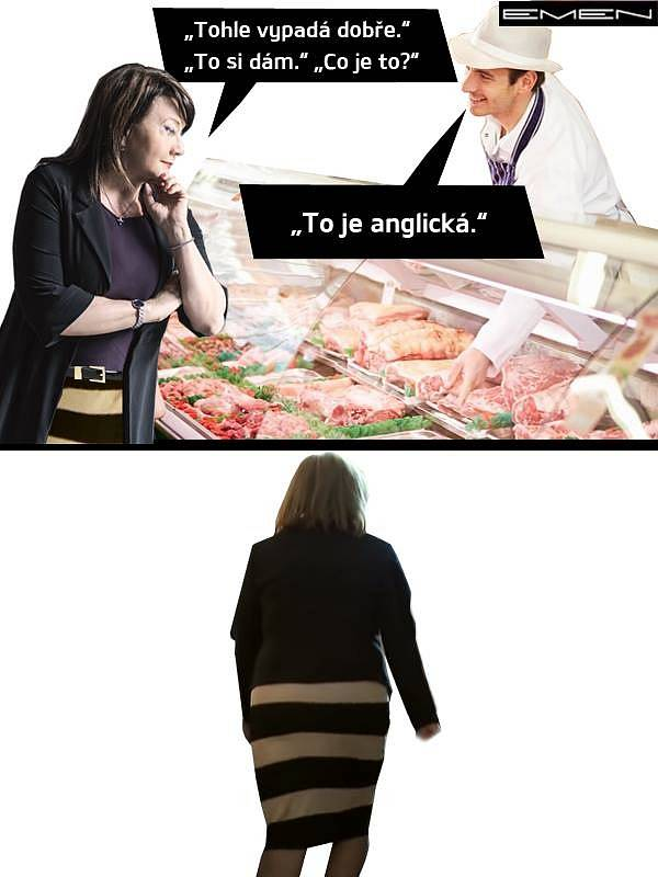 Pozor na cokoli anglického